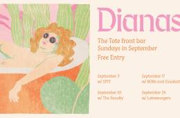 Dianas - Band - Sept Residency Tote Poster