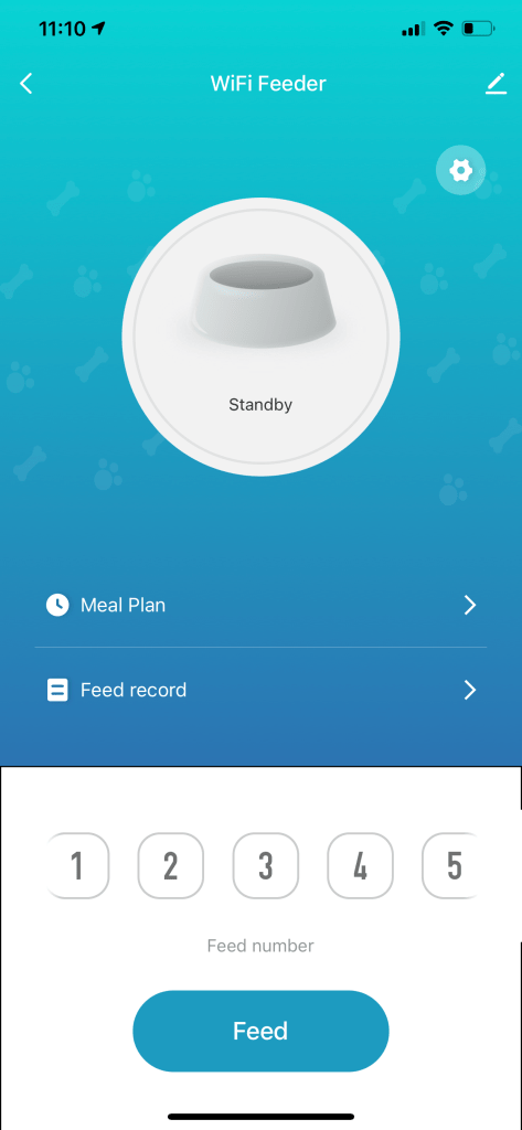 smart life app for the petlibro automatic pet feeder