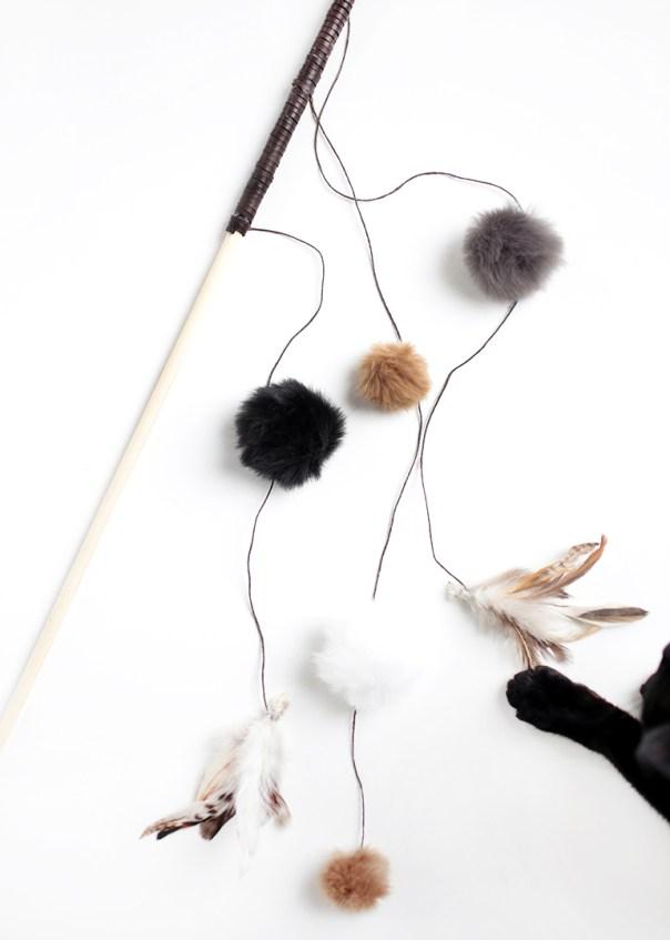 DIY cat toys wand