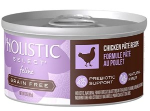 Holistic select pate grain-free canned cat food
