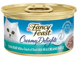 Purina fancy feast creamy delights cat food