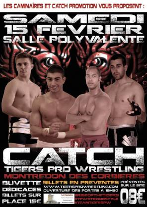 Affiche catch montredon