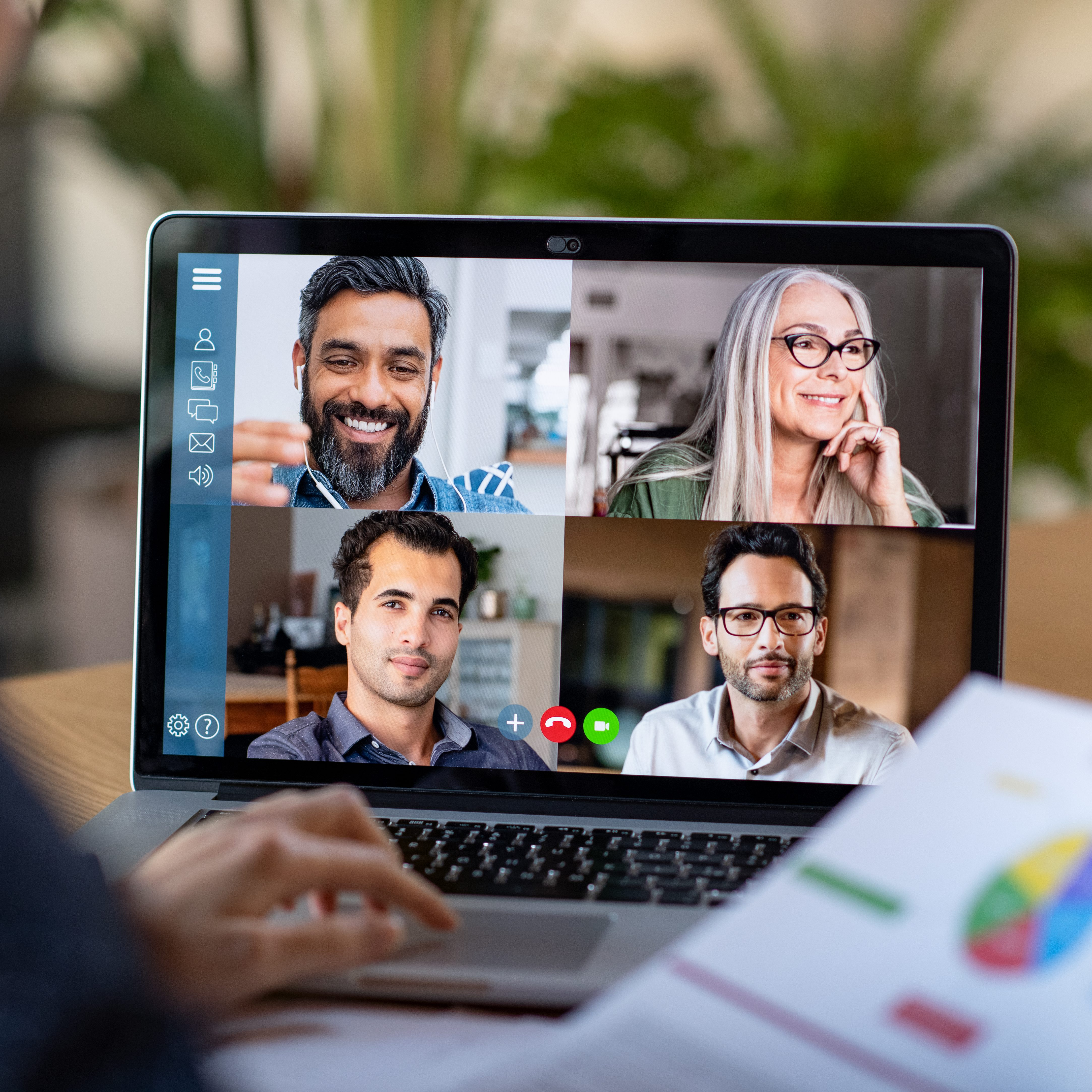 Virtual video call marketing