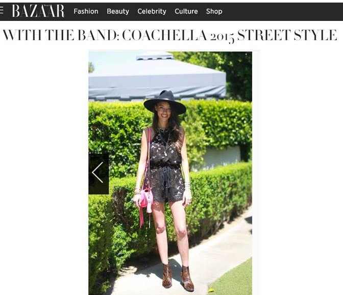 harpers coachella, rebecca minkoff, the kooples, thania peck, catcher in the style