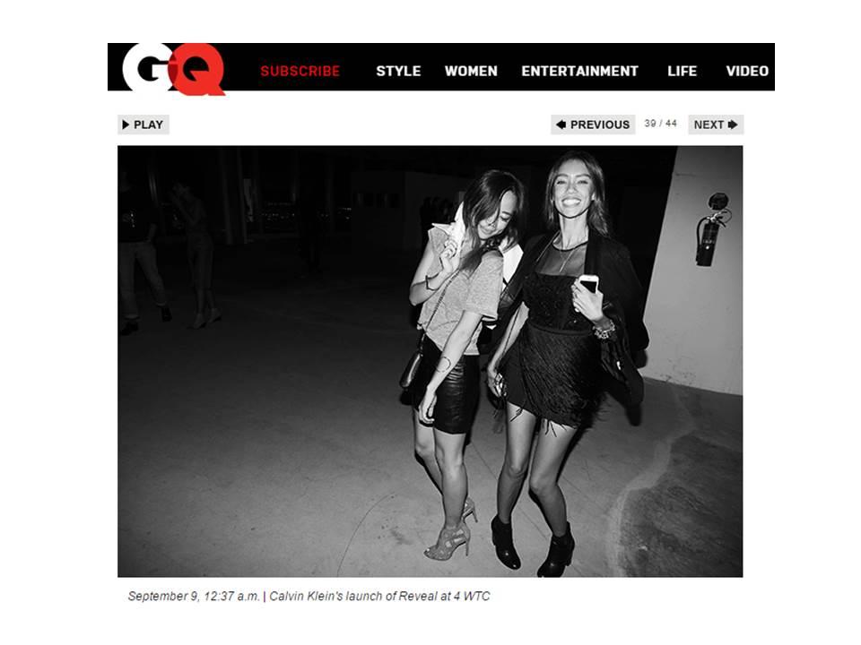 Thania Peck GQ Magazine Calvin Klein