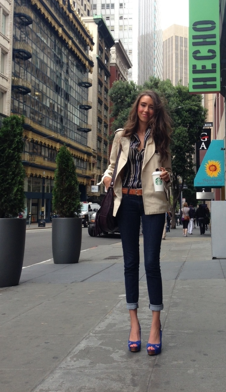 thania peck San Fran Catcher in the style Blogger