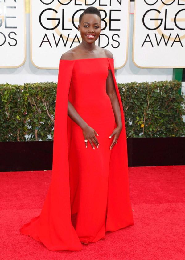 Lupita-Nyong-Golden-Globes www.catcherinthestyle.com