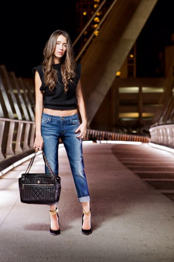 Thania peck boyfriend jeans