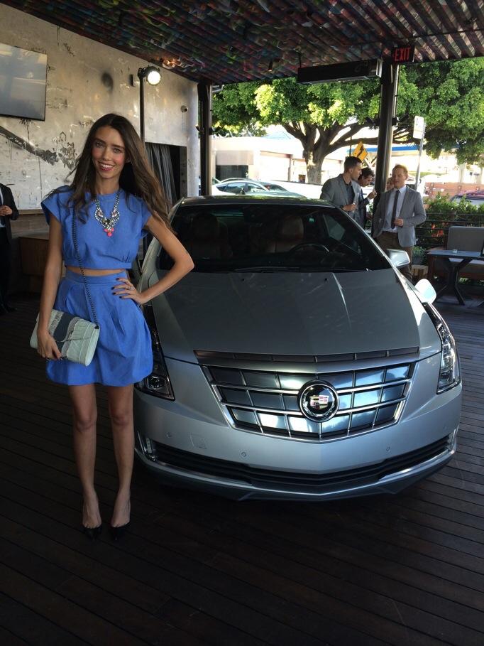 Cadillac Elr thania peck