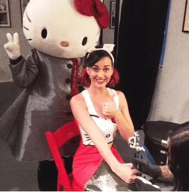 Katy Perry Hello Kitty Con