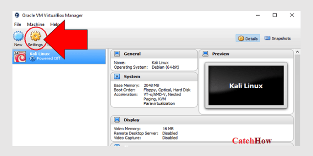 oracle vm virtulbox