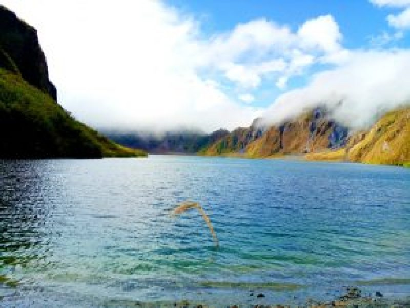Mount PInatubo breathtaking landscape