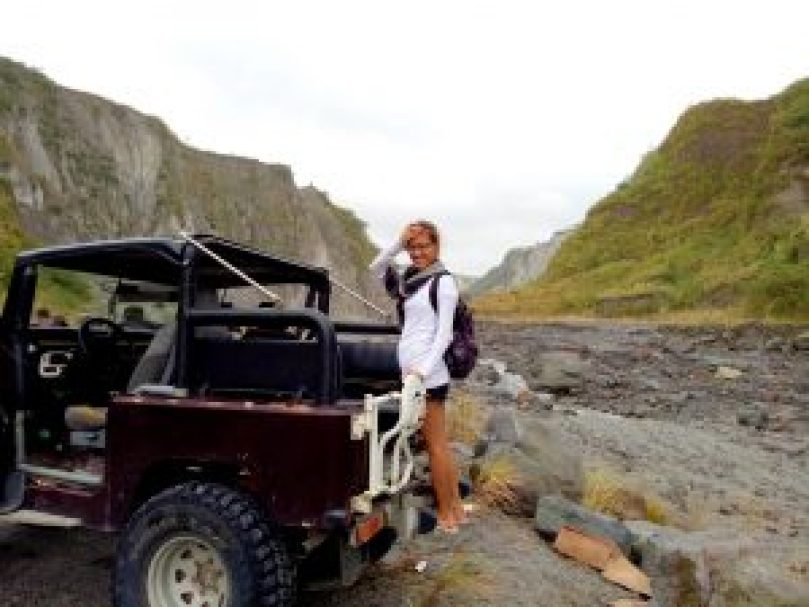 The way to Mount Pinatubo by Catching Carla