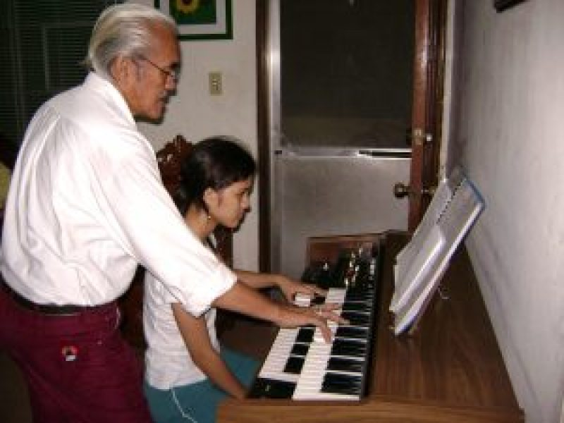 the grandfather who taugh me music