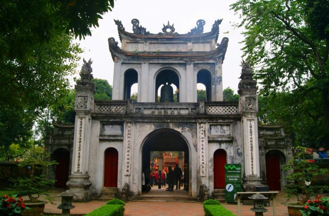 Temple of Literature - Tour Hanoi | Catching Carla