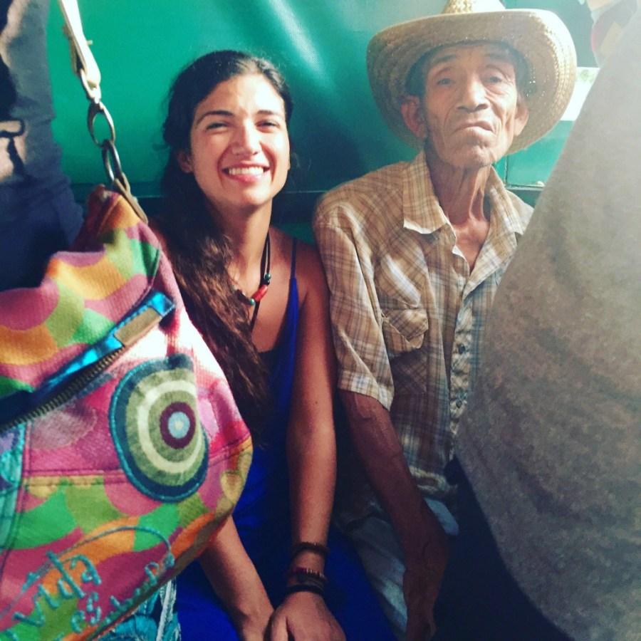 Elina, die griechische gute Freundin von Daniel wird auch noch mit mexikanischen Arbeitern Colectivo fahren.