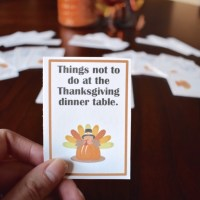 Game of Things: Thanksgiving Edition + Free Printable