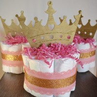 How to Make a Mini Diaper Cake