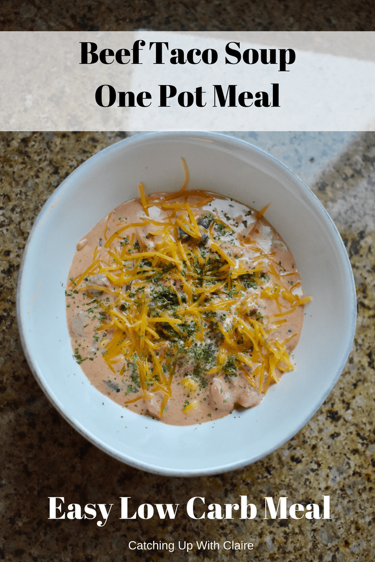 One Pot Meal #22: Taco Soup