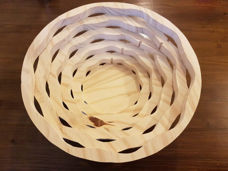Scroll Saw Basket Bowl - Tutorial and tips