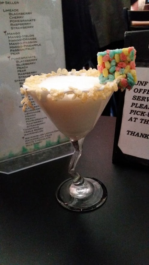 rice krispy treat martini