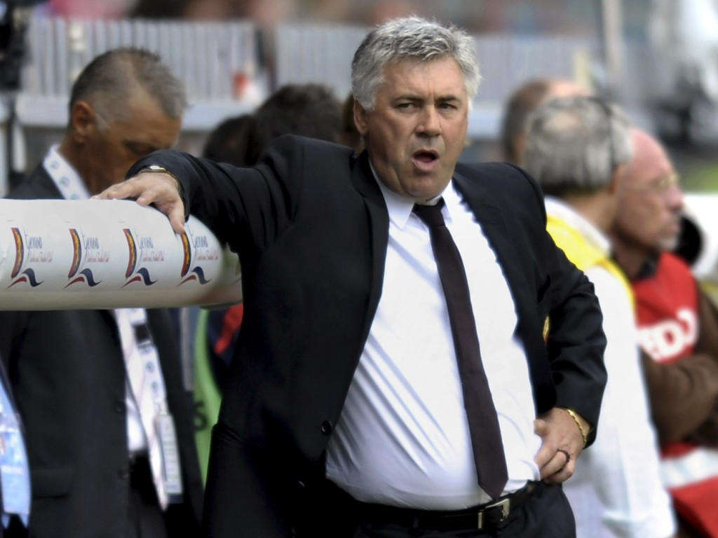 Ancelotti: Comfortable enough in his own ability to make big decisions, even early in his Chelsea career...