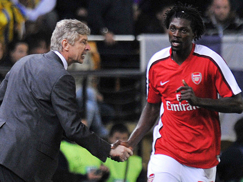 Wenger and Adebayor didn't always see eye-to-eye, and the striker's departure might be a positive for Arsenal