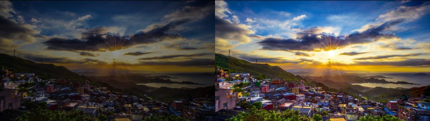 Non HDR vs HDR imagees