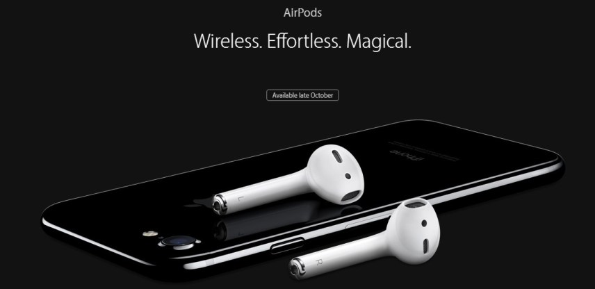AirPods. Image Credit: Apple