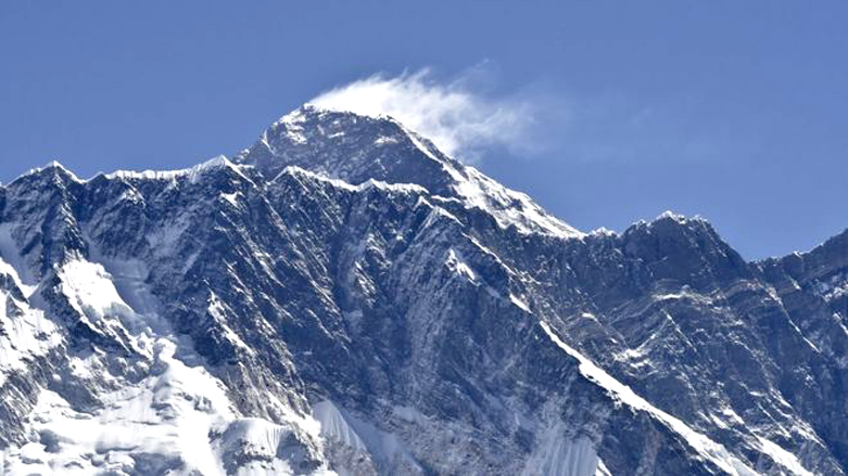 Mount Everest. Image Credit: BBC