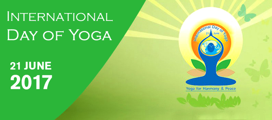 International Yoga Day 2017 Banner. Image Credit: Eventbrite