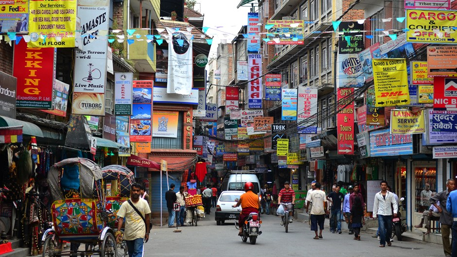 Starting From October 22nd Thamel is to be made 'Vehicle Free'. Image Source: Shidarta.es