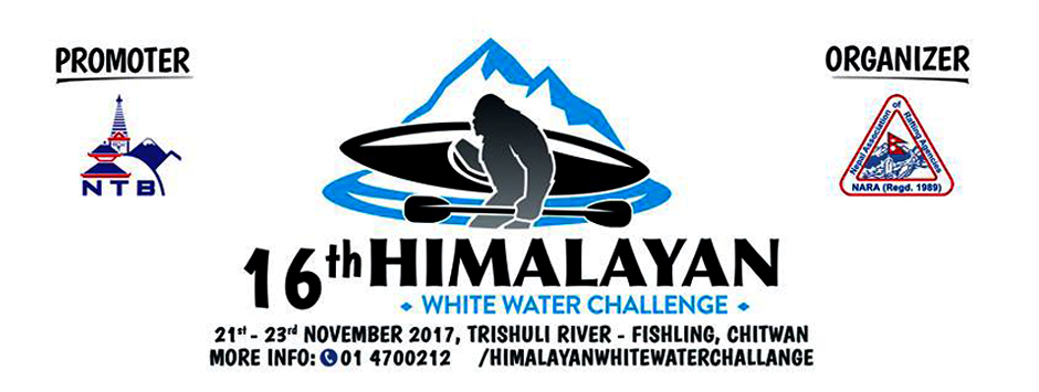 16th Himalayan White Water Challenge to Kick Off from Tuesday. Image Source: Facebook