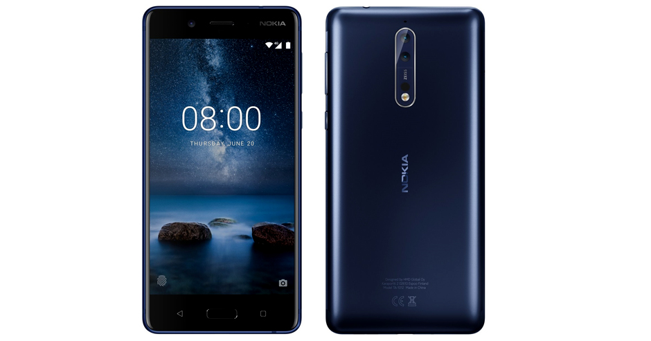 Paramount Electronics to Launch Nokia 8 in Nepal on December. Image Credit: Gadgetbytenepal