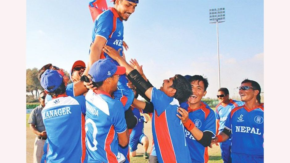 Blind Cricket World Cup—Nepal Beats Australia | Consolation Match. Image Source: Glocal Khabar