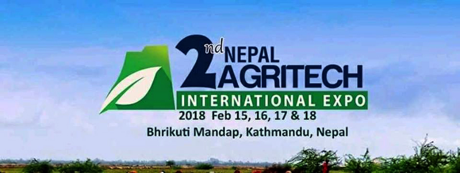 2nd Nepal Agritech International Expo 2018