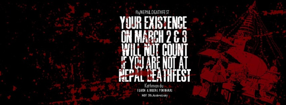 Nepal Deathfest V | 5th Anniversary. Image Source: Facebook