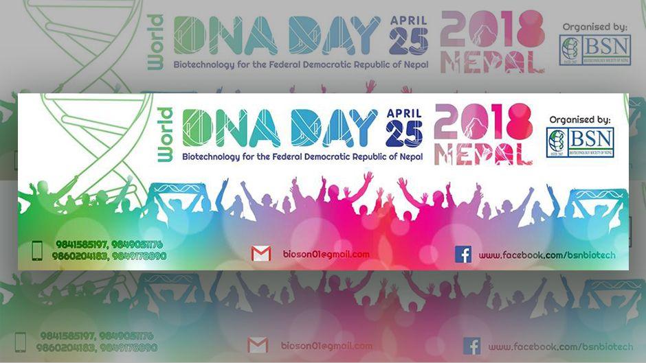World DNA Day 2018. Image Source: Facebook