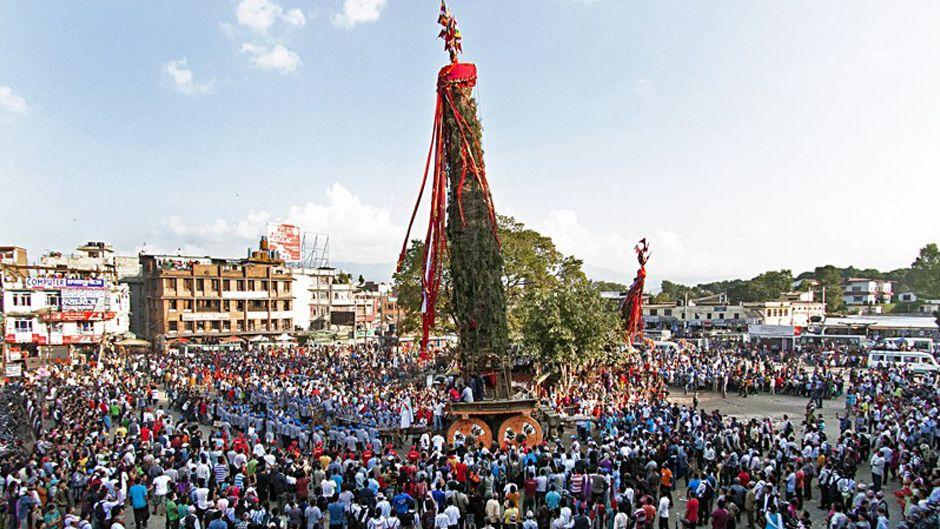 Rato Machhindranath Jatra in Patan