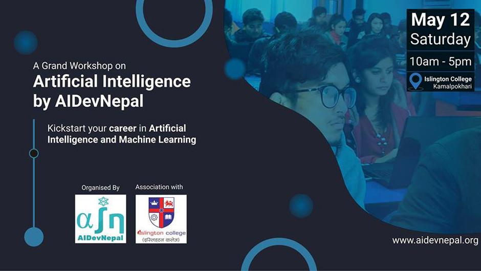 Grand Workshop on Kick Start to AI and Machine Learning. Image Source: Facebook