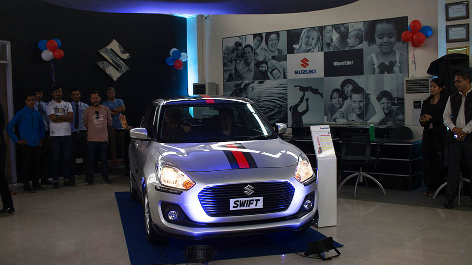 3rd Generation Swift Launched in Nepal