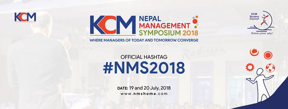 Nepal Management Symposium 2018. Image Source: Facebook