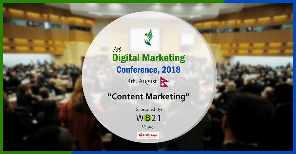 1st Digital Marketing Conference 2018. Image Source: Facebook