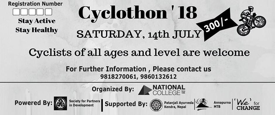 Cyclothon 2018. Image Source: Facebook