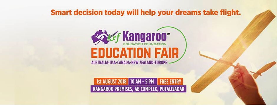 Kangaroo Education Fair to kick off on August 1. Image Source: KEF