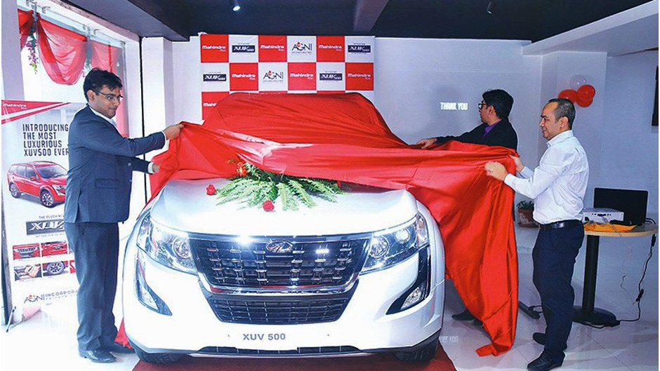Plush New XUV500 Launched in Nepal | Agni Incorporated. Image Source: The Kathmandu Post