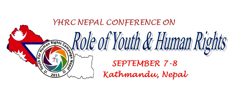 Role of Youths and Human Rights | YHRC Nepal Conference. Image Source: Hamrolagi