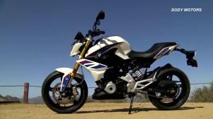 White BMW G 310R