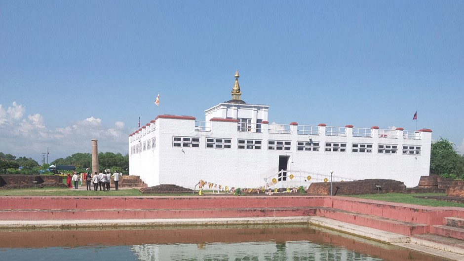Bhadracharya Utsav Starts Today in Lumbini. Image Source: Google