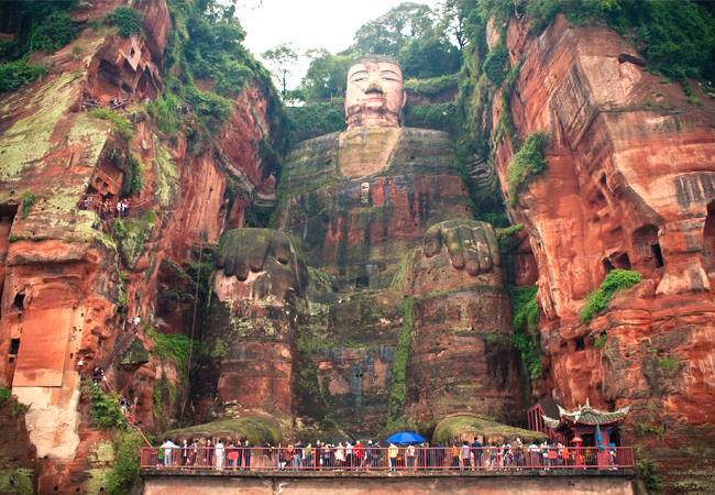 Leshan Giant Buddha. Image Source: real.gs